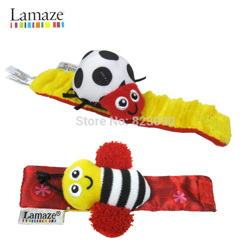 20 pcs Original chocalhos sino de mão banda lamaz faixa de relógio brinquedos do bebê 1230 sylvia 1106838287(China (Mainland))