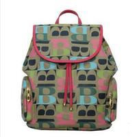 ANGEL ! 2015 new fashion PU Leather Backpack College backpack women's travel bag school bags hiking backpack FF674