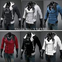 Assassin's assassins Creed Conner Kenway Hoodie Coat Jacket Men's cosplay Slim Cardigan costume Clothing overcoat sport suit
