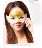 Halloween mask female masquerade princess mask lace child mask cosplay female