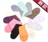 Women's  mulberry silk knitted breathable women's stockings short socks antibiotic socks