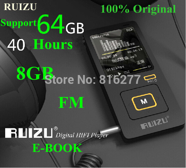 MP3-плеер Rui Zui 8gb MP3 1.8/40 FM, e , 8gb MP3 Player mp3 плеер oem 8gb mp3 8gb tf usb mp3 8gb mp3 fm