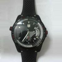 Fashion Round Dial Wristband Men Wristwatch