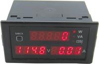 AC80-300V/0-100A Multi-function Digital Display AC voltmeter Ammeter Power Meter