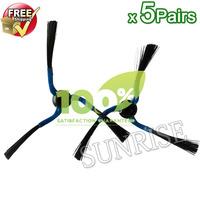 10pcs Side Brush for Samsung Navibot Series SR8730 SR8750 SR8824 Cleaner Side Brush(5 Left+5 Right)