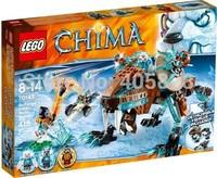 Original Brand Lego Blocks Bricks Learning Educational Models & Building Classic Toys 70143 CHIMA Series Sir Fangars Sabre-Tooth