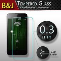 0.3mm 2.5D Original Premium Tempered Glass Screen Protector Film For Xiaomi 2 mi2 mi2s m2 High Quality