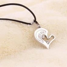 Men Women Lover Couple Necklace I Love You Heart Shape Pendant Necklaces Fashion Jewelry