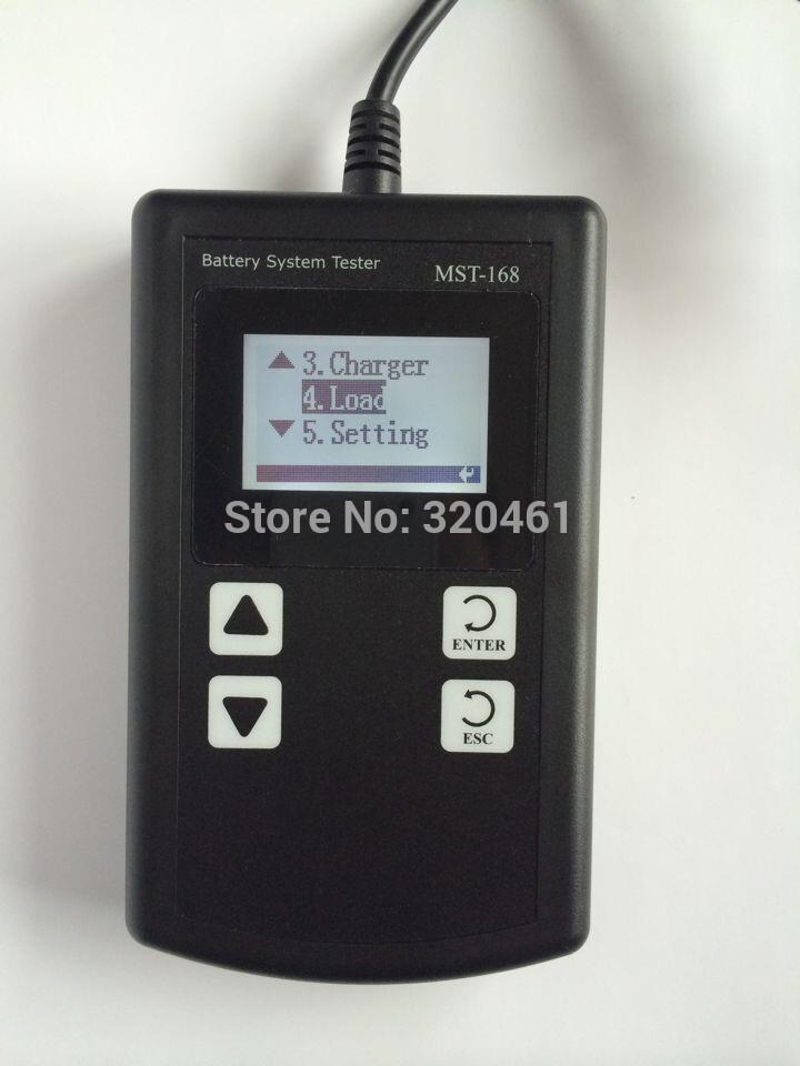 Smart Digital Battery Analyzer for 12V Lead-Acid Battery -MST-168(China (Mainland))