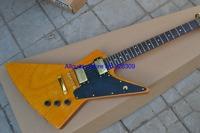 Guitar Musical Instruments wood color explorer yellow electric guitar