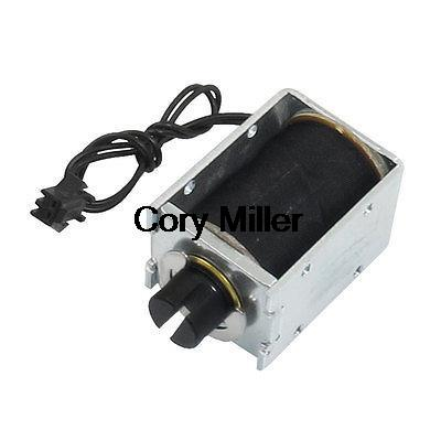 DC 12V 1.71A 5mm 0.75kg Actuator Linear Pull Solenoid Electromagnet(China (Mainland))