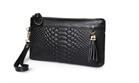 new women handbags genuine leather clutch wallets for women fashion brand design serpentine zip day clutches organizer purse bag