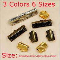 Pengiriman gratis logam DIY 6mm-25mm temuan perhiasan, Antik perak bertekstur End clasps, Halangan manik,Fit membuat perhiasan