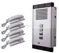 audio intercom, audio door phone for apartment