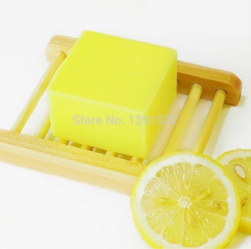 Pure handmade lemon perfumes and fragrances of brand original naturesoap type perfume perfume for women lady perfumes gift soap(China (Mainland))