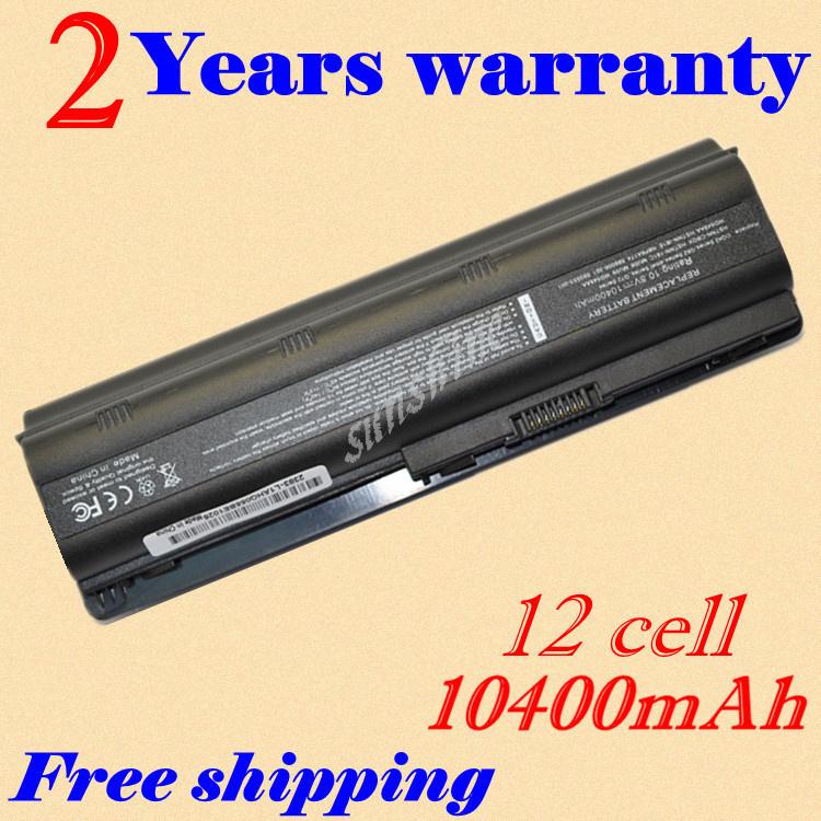 12 cell battery for HP PAVILION DM4 DV3 DV5 DV6 DV7 G32 G62 G42 G6 for Compaq Presario CQ32 CQ42 CQ43 CQ56 CQ57 CQ62(China (Mainland))