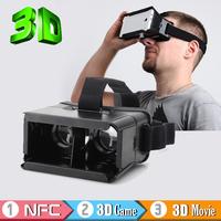 "2015 3D Glasses ColorCross Universal plastic Google Virtual Reality 3D Video Glasses for 4~6"" Smartphones Cardboard Oculus rift"