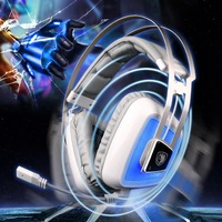 Brand Sades A8 Gaming Headphones Game Headset Noise Isolating Dual Vibration USB 7.1 Surround Sound Stereo