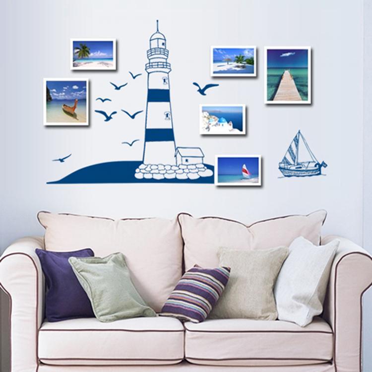 Muurstickers Keuken Bon Appetit : Lighthouse Wall Decal Stickers