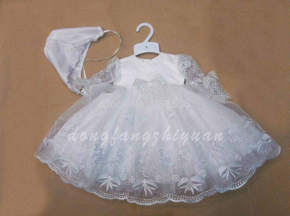 Платья на новорожденных девочек своими руками 634