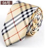 New Classic Print Color Stripes JACQUARD WOVEN Silk Men's Tie Necktie