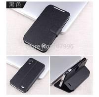 New Lenovo S720 Case Leather Phone Bag Luxury Flip Case Cover For Lenovo S720 Silk Leather Skin Case For Lenovo S720 Case
