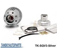 Free shipping -( H Q ) BLOW OFF VALVE / SQV3 / TURBO BOV (Silver,replicate) TK-SQV3-Silver Original color box and logo