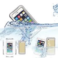 Free shipping 2014 newest waterproof for iphone 6 waterproof case 4.7 inch waterproof bag