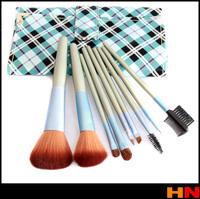New High quality Make-Up For You Professional 9pcs Makeup Brush Set Kit Makeup Brushes & tools Make up Brushes Blue