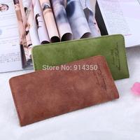 Women wallet PU Leather Card handbag Clips Flower Hasp Buckle Open Wallets  Long Purse 1688-22