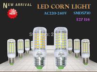 1PCS  E27/E14  LED Corn Light Bulb SMD5730 220V 230V 240V 110V 3W 5W 9W 10W 12W 15W 18W 25W High Brightness