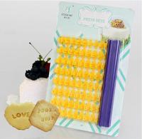 DIY Alphabet Number letter cookie biscuit stamp embosser cutter fondant cake decorating tools mold
