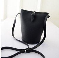Women's Handbag New Arrivel All-match Bucket Bag Messenger Bag Handbag Women's Bag Pu Leather Small Crossbody Bags Free Shipping