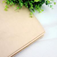 100cmx160cm/piece  Light Khaki cotton Fabric  for Patchwork Quilting bedding sheet home textile Reactive Dyeing