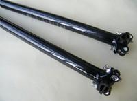 2pcs/lot full carbon glossy seatpost fit for Road Bike Mountian Bike MTB seatpost 27.2/30.8/31.6 x 350mm/400mm free shipping