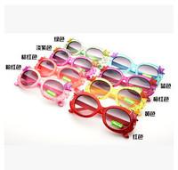 New Fashion Kids sunglasses Crown colorful sunglasses 24pcs/lot free shipping