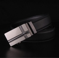 Free Shipping Men's leather belt alloy buckle authentic belts The fashion leisure belt