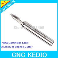 Carbide Tungsten End Mill CNC Machine Milling Cutter Cutting Bits For Aluminum  8mm diameter