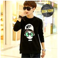 billionaire boys club Korean cotton pullover sweatshirt men Small head print sudaderas hombre tee