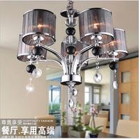 The new luxury high-grade crystal chandelier chandelier room hotel LED lamp suitable for voltage 90-260V