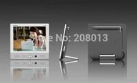 Free shipping GADMEI PL8006 8-inch Mini TFT LCD Portable TV Monitors With VGA Port Computer Monitor Black MINI TV