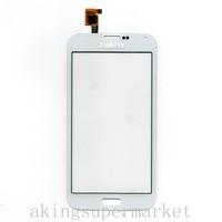 Registered Capactive Touch Screen Touchscreen Digitizer Panel For OEM S5 G900 I9600 Cell Phone 1250-V1.1 White