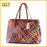 2015 New Fashion Designer Lady's Shoulder Bags 100% Genuine Leather Bag Women Messenger Bags Handbags Tote