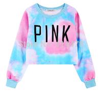 women harajuku 2015 clothes pullovers pink letter sweatshirt sexy girls fashion short crop top hoodies free shipping