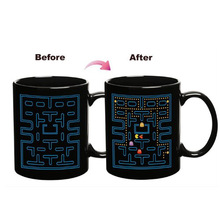 2015 Hot Heat Colour Change Mug Cup (pac-man)