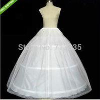 2015 Vestido De Noiva Hot Sale 2 Layer 3 Hoop Elastic Waist Wedding Bridal Gown Drawstring Dress Petticoat Underskirt Crinoline
