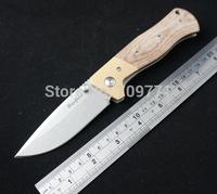 D2 steel washstone camping knife 58HRC hardness outdoor knife folding knife pocket knife FREE SHIPPING