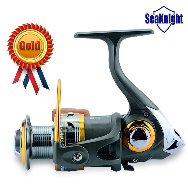 Golden Seller!! Brass Carp Spinning Fishing Reel SaltWater Wheel Trolling Coils Line Roller Carretilha Pesca Fishing Gear 11BB(China (Mainland))