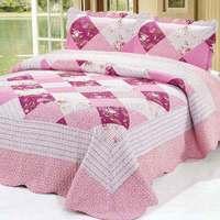 2015  good quality 121-2  colorful prewash bedcover bedding set