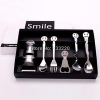 Zakka Creative Gift Birthday Honey Girls Novelty Boys Gadget Home Decoration Gadgets Spoon Fork Cooking Tools Tableware